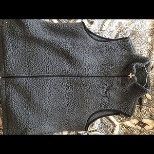 Victoria secret sherpa vest